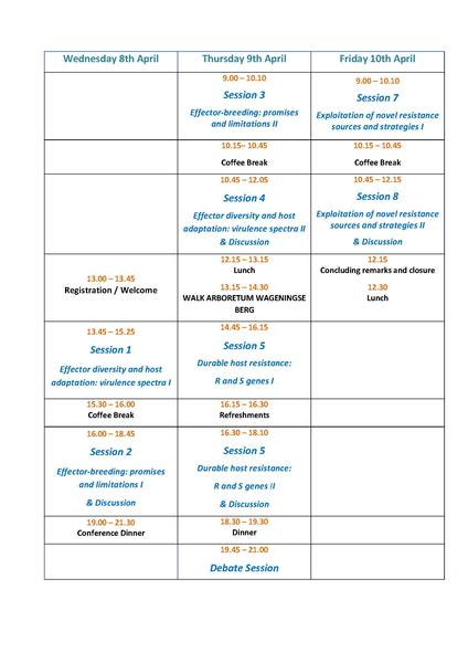 Grille programme