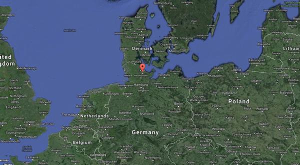 Kiel map